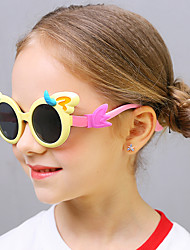 cheap -1pcs Kids Unisex Active / Sweet Cartoon Glasses Black / Blue / Red
