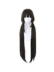cheap -danganronpa maki harukawa cosplay wig (dark brown)