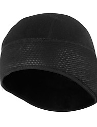 cheap -Cycling Cap / Bike Cap Skull Cap Beanie Solid Color Cycling Warm Breathability Bike / Cycling Black Fleece Spandex Winter for Unisex Adults' Motorcycle Snowsports Backcountry Winter Sports Bike