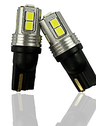 cheap -OTOLAMPARA Pair of Car LED Hand Box Lamp 285 1250 1251 1252 2450 2652 2921 Car Interior Handbar Light T10 W5W 147 Interior Light 152 158 159 5W 6000K White Color Lightness