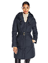 cheap -women's barcelona fitted down coat, empire blue, large