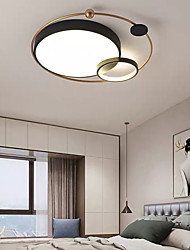 cheap -45cm LED Ceiling Light Modern Nordic Planet Desgin Tricolor Light Flush Mount Lights Living Room Bedroom Metal Painted Finishes 110-120V 220-240V