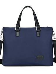 cheap -Men's Bags Nylon Synthetic Shoulder Messenger Bag Laptop Bag Briefcase Zipper Handbags Daily Outdoor Black Blue