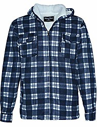 cheap -Men's N / A Spring &  Fall Coat Regular Causal Cotton Coat Tops Red grid