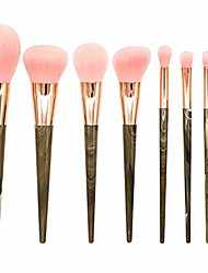 cheap -beauty 8pcs cosmetic makeup brushes set foundation powder lip eyelashes eyeshadow brush face eye make up brushes set yyfus (color : pink, size : free)