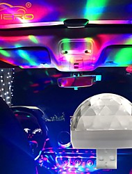 cheap -Car Auto Lamp USB Light DJ RGB Mini Colorful Music Sound Light USB-C Apple Holiday Party Karaoke Atmosphere Lamp Welcome Light