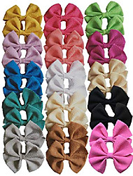 cheap -hair bow clips barrettes princess's hair accessories for baby girl toddlers teens kids womens (30pcs cp6)
