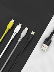 cheap -Micro USB USB C Cable High Speed Quick Charge Data Transmission 2.4 A 1.0m(3Ft) PVC(PolyVinyl Chloride) For Xiaomi MI Samsung Xiaomi Phone Accessory