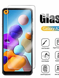 cheap -3pcs Tempered Glass For Samsung Galaxy A72 A52 A32 A01 A11 A21 A31 A41 A50 A51 A60 A71 A80 A91 Protective Film Phone Screen Protector On Glass For Samsung A71 A71s