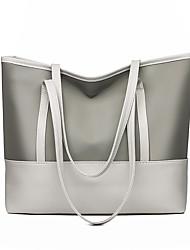 cheap -Women's Bags PU Leather Leather Crossbody Bag Zipper Daily Outdoor Handbags Baguette Bag MessengerBag White Black Blue Gray