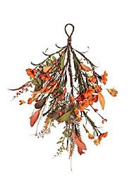 cheap -neol'artes 16 inch fall daisy door swag wreath for lamp ears, and home decor (daisy)