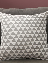 cheap -Cushion Cover Fashion Simple Northern Europe Geometry Pattern Flax Double Sided Printing Pillow Case Cover Living Room Bedroom Sofa