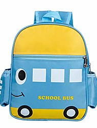 cheap -kids school bus book backpack school bag for boys girls 1-6 years old