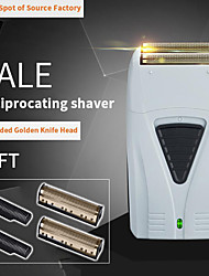 cheap -Electric Shaver for Men Twin Blade professional Reciprocating Cordless Razor USB Rechargeable Shaving Machine Barber Trimmer