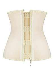 cheap -underbust corset, waist trainer for weight loss beige