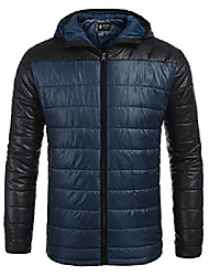 cheap -mens long down alternative jacket mountain thicken parka padded coat