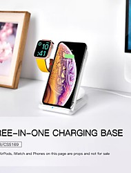 cheap -LITBest 2/5/7.5/10 W Output Power 3 in 1 Wireless Chargers Wireless Charger Qi Charger Kit RoHS CE Certified FCC For