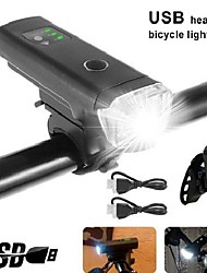 cheap -led bicycle light rechargeable usb bicycle light set (german road traffic licensing regulation) approved front rear light ipx5 waterproof bicycle lights 2600 mah lithium battery, grey