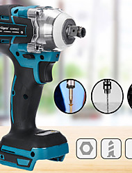 cheap -Brushless cordless electric impact wrench rechargeable 18V electric wrench bare machine
