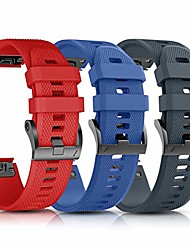 cheap --compatible with fenix 5 band.easy fit 22mm width silicone watch bands.replacement for fenix 5 plus/fenix 6/fenix 6 pro/forerunner 935/forerunner 945/approach s60/quatix 5 (red/blue/rockcyan)