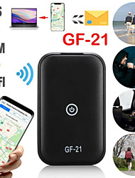 cheap -GF-21 Mini GPS Tracker Car GPS Locator Anti-theft Tracker Gps Tracker Anti-Lost Recording Tracking Device Voice Control