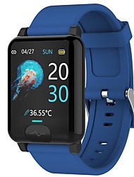 cheap -696 E04S Unisex Smartwatch Smart Wristbands Bluetooth Heart Rate Monitor Blood Pressure Measurement Calories Burned Thermometer Distance Tracking ECG+PPG Pedometer Sleep Tracker Find My Device