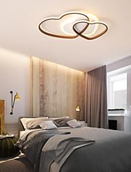 cheap -43/53/63 cm LED Ceiling Light Modern Heart Design Romantic Bedroom Dining Room Restaurant Flush Mount Lights Aluminum Painted Finishes Artistic LED 110-120V 220-240V