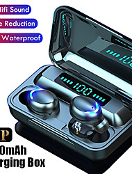 cheap -F9-32 TWS Touch Bluetooth Earbuds HD Stereo Handsfree Wireless IPX7 Waterproof Bluethooth5.0 Headphones Business Gaming Headset with Led Display