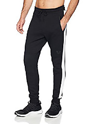 cheap -amazon brand - men's metro fleece 'build your own' jogger sweatpants (s-3xl, loose, athletic, fitted), forest green heather/black, xx-large