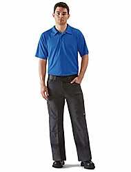 cheap -men's big-tall active performance polo shirt, royal blue, 5x-large