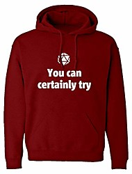cheap -hoodie you can certainly try dnd medium red hooded sweatshirt