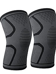 cheap -knee support brace,knee pads - premium recovery & compression sleeve for running, jogging, sports, joint pain relief, arthritis and injury recovery, youth & adult sizes- sold as pair (s)
