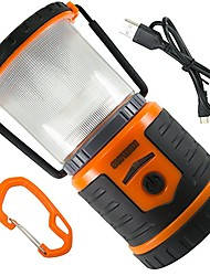 cheap -rechargeable battery lantern and phone charger by suitech - long lasting emergency camping light with usb port - up to 200 operating hours with red sos beacon - heavy duty and waterproof.