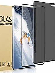 cheap -[1 privacy+1 hd]galaxy s10 plus tempered glass screen protector,[9h hardness] [3d touch] [scrach resistant] [anti-spy] [easy to install] [no bubbles]suitable for samsung galaxy s10 plus/s10+(6.4 inch)