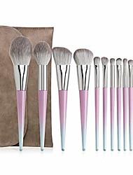 cheap -12 pcs eyebrow eyeshadow brush multifunctional makeup brush makeup tool