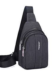 cheap -Unisex Bags Sling Shoulder Bag Chest Bag 2021 Daily Outdoor Black Blue Gray