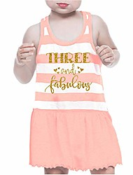 cheap -third birthday outfit girl three year old 3rd birthday summer dress pink