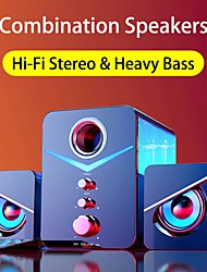 cheap -221 USB Wired Bluetooth Combination Speakers Computer Speakers Bass Stereo Music Player Subwoofer Sound Box For PC Phones