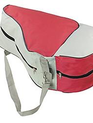 cheap -ice skating bag roller skating adjustable shoulder strap bag skates tote (red)