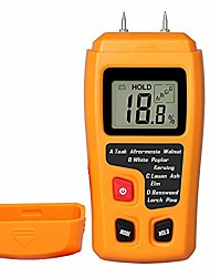 cheap -moisture meter lcd damp moisture tester for acuurately measuring the percentage of water in firewood floor walls cordwood paper and trees