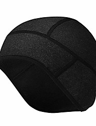 cheap -cycling skull cap under helmet liner winter warm hats with windproof thermal fleece for men women cycling hat caps for outdoor sports cycling running skiing, grey