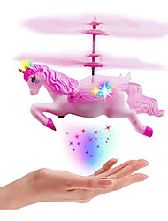 cheap -Flying Gadget Flying Toy Hand Operated Drones Plane / Aircraft Helicopter Unicorn Horse Rechargeable with Infrared Sensor with LED Light Plastic Shell Kid's Adults Boys and Girls Toy Gift 1 pcs