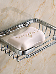 cheap -Soap Dishes & Holders New Design / Creative Contemporary / Modern Stainless Steel / Low-carbon Steel / Metal 1pc - Bathroom Wall Mounted