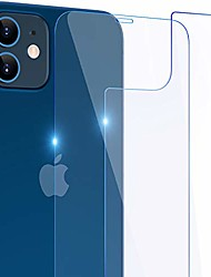 cheap -screen protector front and back compatible with iphone 12 / iphone 12 pro 2020, 6.1 inch tempered glass full protective film for accessories, 9h shockproof, edge to edge, case friendly