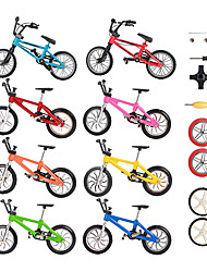 cheap -16 pcs Finger skateboards Finger bikes Finger Toys Plastics Alloy Office Desk Toys with Replacement Wheels and Tools Party Favors Kid's Adults All Party Favors  for Kid's Gifts