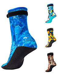 cheap -Bluedive Water Socks 3mm Neoprene Anti-Slip Quick Dry Diving Surfing Snorkeling - for Adults