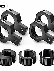 cheap -90023d 4-pack (standard) 4pcs mounting bracket kit led off-road light vertical bar tube clamp roof roll cage holder,2 years warranty