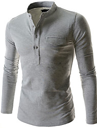 cheap -easy port access long sleeve chemo shirt (small, grey)