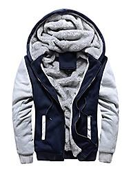 cheap -men's fleece hooed hoodies thick  warm winter jacket coats sweatshirts