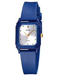 cheap -SKMEI Women's Quartz Watches Analog Quartz Modern Style Stylish Minimalist Water Resistant / Waterproof Shock Resistant Casual Watch / One Year / Silicone